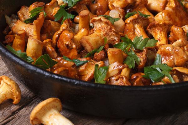 Жарить грибы рецепт