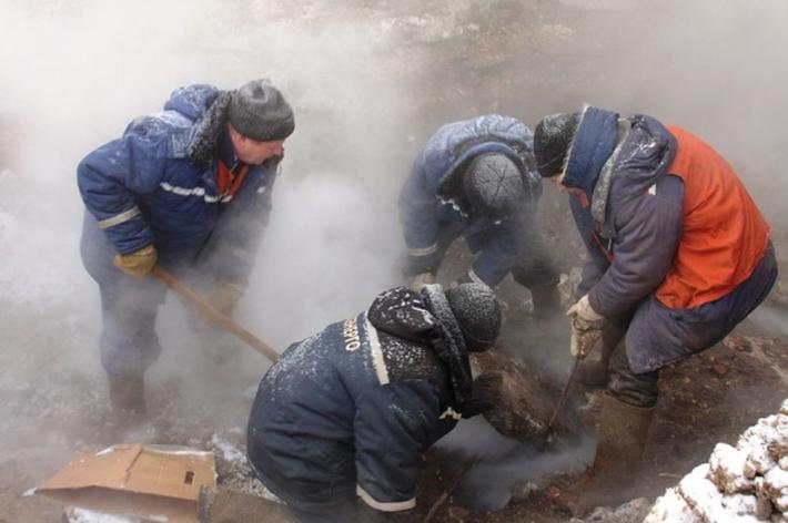 Энергетики на100% восстановили теплоснабжение вКировском районе